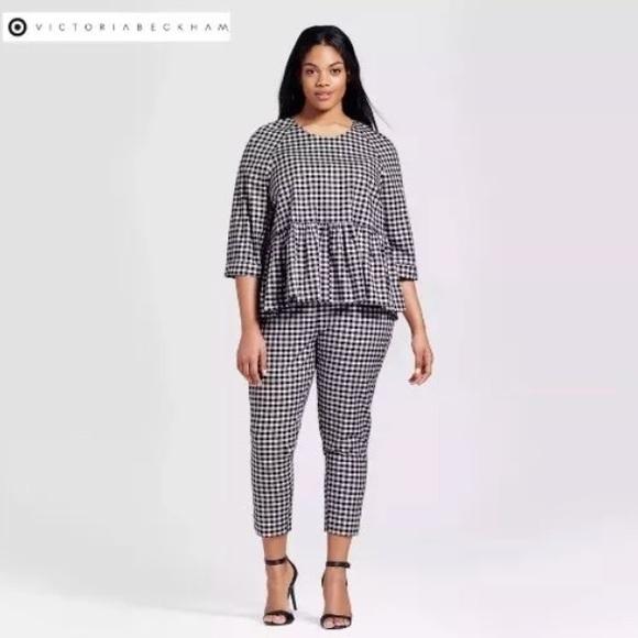 30475b02ab58ff Victoria Beckham for Target Pants | Twill Crop | Poshmark